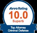 Avvo 10 Criminal