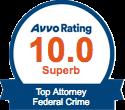 Avvo 10 Federal