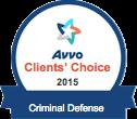 Avvo Clients Choice Criminal