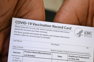 Vaccine Card Sample